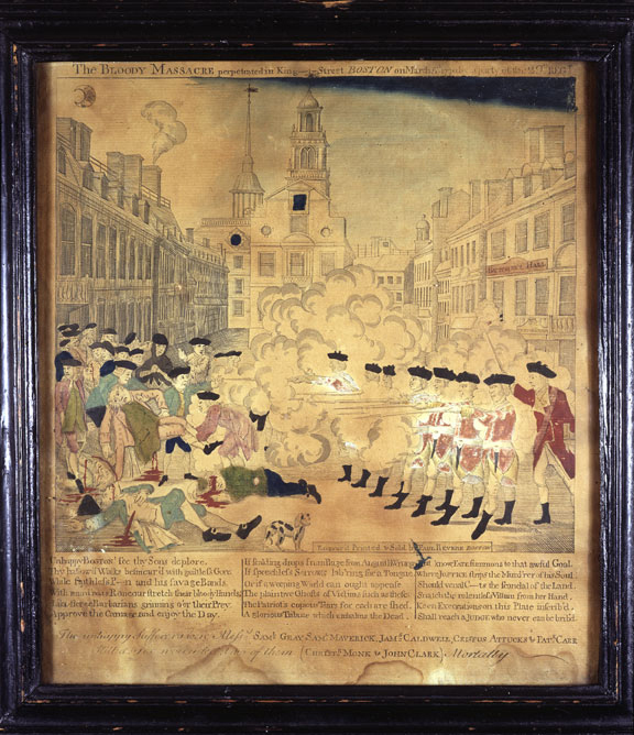 1770 Boston Massacre Newspaper Article